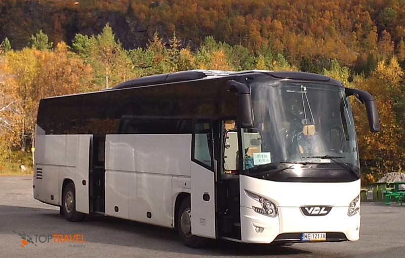 TOP TRAVEL Luksusowe autokary Warszawa VDL